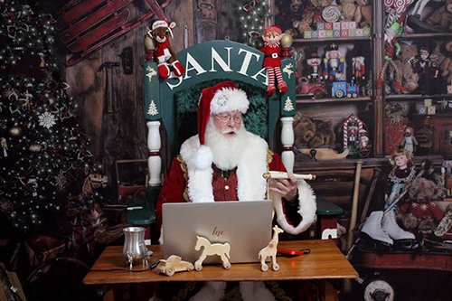 Santa Jeff Personalized Video Messages